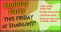 Holiday Party This Friday